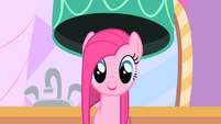 Pinkie Pie with a flat mane S01E26