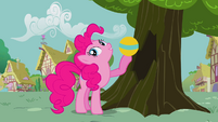 Pinkie with a ball S2E20