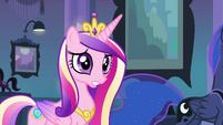 Princesa Cadance falando com Twilight 1 EG