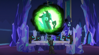"Queen Chrysalis ""one ponynapped princess wasn't enough"" S6E25"