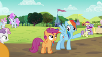 """Rainbow """"I'm gonna go sign us in"""" S5E17"""