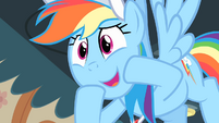 Rainbow '...and then Scootaloo does that...' S4E05