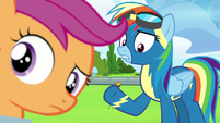 "Rainbow Dash ""and we're really close"" S7E7"