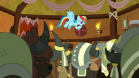 "Rainbow Dash ""her very first time here"" S8E18"