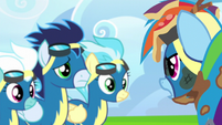 Rainbow Dash --buzzed me on purpose-- S6E7