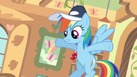 Rainbow Dash before hit S2E22