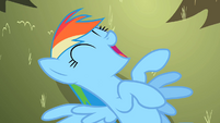 Rainbow Dash laugh out loud S2E10