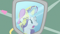"Rarity ""can't have Photo Finish shoot my mane"" S7E19"