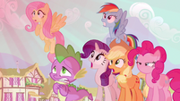 Rarity & Rainbow Dash not good S3E5