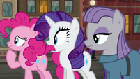 Rarity --that's amazing!-- S6E3