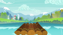 Star Swirl and Tree Hugger teleport to safety S8E16