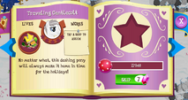 Traveling Gentlecolt album page MLP mobile game