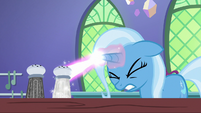 Trixie tries casting transfiguration a third time S7E2