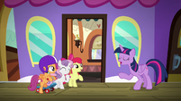 "Twilight Sparkle ""it's purely research"" S8E6"