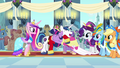 Twilight and Shining Armor laughing and hugging S03E13.png