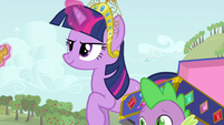 Twilight off you go S3E13