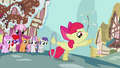 Apple Bloom posing while doing her tricks S2E06.png