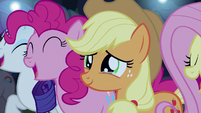 Applejack moved to tears S5E24