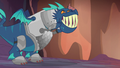 Blue dragon happy and smiling S6E5.png