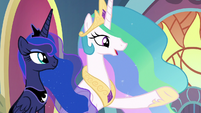 "Celestia ""can't think of anypony more worthy"" S9E1"