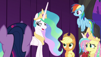"Celestia ""you're welcome, Twilight"" S8E7"