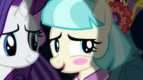 Coco Pommel blushing with pride S5E16