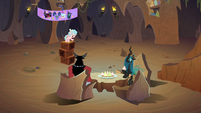 Cozy holds a meeting with Tirek and Chrysalis S9E8