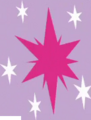 Fake Twilight Sparkle cutie mark crop S8E13