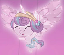 Flurry Heart Crystal Pony ID S6E2