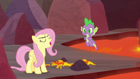 "Fluttershy ""Spike came all this way"" S9E9"