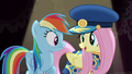 Fluttershy dressing as Admiral Fairy Flight S4E21.png