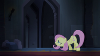 Fluttershy looking for Angel and Rarity S4E03