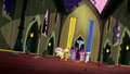 Mane Six storm into the throne room S5E13.png
