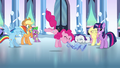 Pinkie Pie playing the flugelhorn S3E1.png