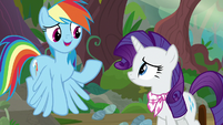 "Rainbow ""Scootaloo's Filly Guides camp"" S8E17"