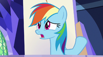 Rainbow Dash -carrying heavy stuff- S8E21