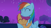 Rainbow Dash takes Scootaloo under her wing S3E06