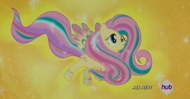 Rainbow Power Fluttershy