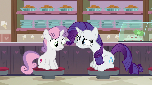 """File:Rarity """"when did you get so practical?"""" S7E6.png"""