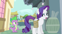 Rarity -I don't really think I need to ask permission- S4E23