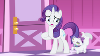Rarity -I should probably go talk to her- S4E19