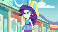 Rarity walking up to her friends EGROF