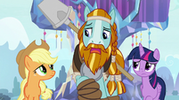 "Rockhoof ""I heard there's a statue spell"" S8E21"