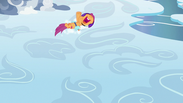 File:Scootaloo slides in a circle on the clouds S7E7.png
