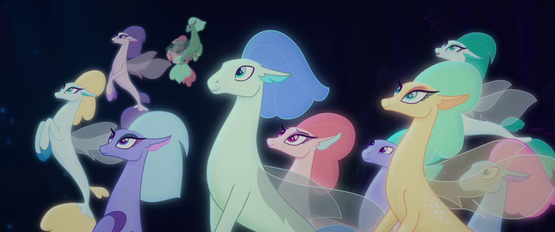 Seaponies And Mermares My Little Pony Friendship Is