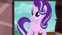 Starlight Glimmer happy to see Sunburst S7E24