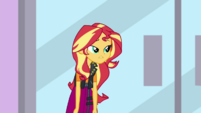 Sunset Shimmer sees Rainbow has left EGDS2