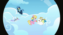 The other pegasi in the clouds S3E07