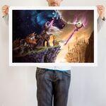 Trixie Won't Lie art print WeLoveFine
