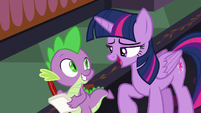 Twilight -we have a presentation to make- S8E1